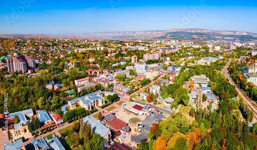 Canvas-taulu Kurortny Boulevard aerial view, Kislovodsk