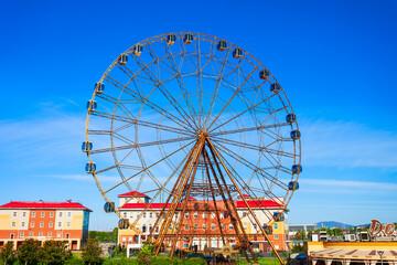 Ferris Fheel in Sochi Theme Park