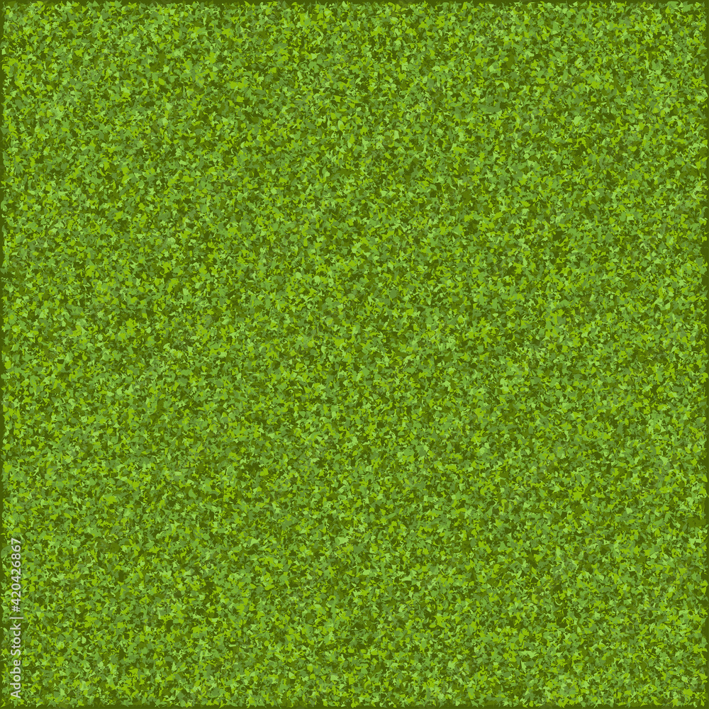 Fototapeta Vector pattern. Grass. Top view.