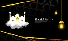 Islamic Background, Suitable For Islamic Days Or The Holy Month Of Ramadan