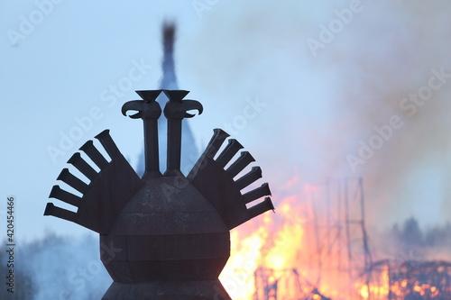 Symbol of Russia: two-headed eagle Fototapeta