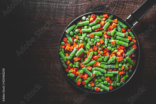 Fotografie, Obraz Mixed vegetables