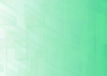 幾何学的な緑色の抽象背景 No.09