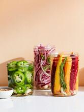 Assorted Pickled Jars