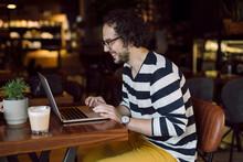 Freelancer Working On Lap Top