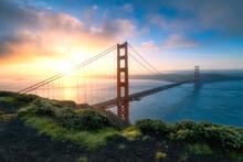 The Golden Gate Bridge After Sunrise