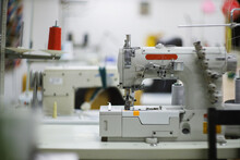 Sewing Machine For Creating Clothes