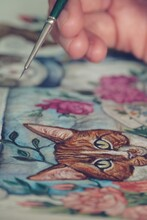The Animal Tea Party Painting Process Vol. 2
