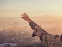 A Hand Reaching Across L.A.