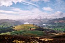 Latrigg, Keswick And Derwent Water. Lake District, Cumbria, UK.