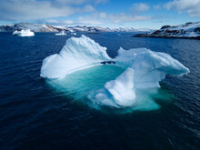 Greenland Stunning Iceberg Formation Melts And Begins To Collapse