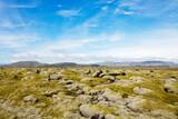 Otherworldly Icelandic landscape