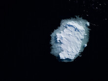 Greenland Sea Ice Island, Small Island Of Seaice Melting, Climate Change Effects