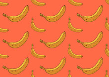 Banana Pattern Illustration