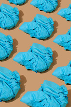 Balls Of Blue Paper