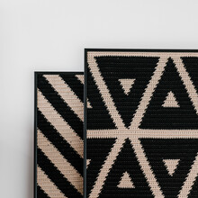 Set Of Knitted Panels For Home Decor