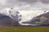Enormous glacier in Iceland