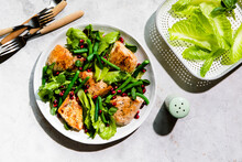 Chicken Breast And Green Bean Salad