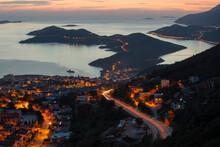 Landscape Mediterranean Town Kash Bay
