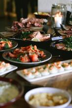 Buffet With Gravad Lax (salmon)