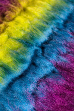 Abstract Colorful Felt Wool Background