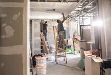 Indoor Construction Site