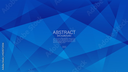 Blue abstract background, polygon vector background, graphic, Minimal Texture, cover design, flyer template, banner, web page, web background, banner background, book cover, advertisement, printing te