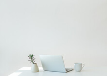Minimalist Work From Home Set Up