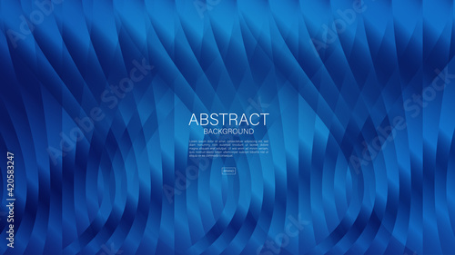 Fototapeta Blue abstract background, polygon vector background, graphic, Minimal Texture, cover design, flyer template, banner, web page, web background, banner background, book cover, advertisement, printing te obraz