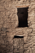 USA, New Mexico. Window In Ancient Cliff Dwelling.