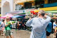 Songkran Thai New Year National Holiday