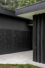 Entrance Of Minimalist House