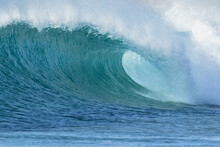 Wave Breaking At Greenly Beach. Eyre Peninsula. South Australia.