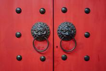 Chinese Wooden Door