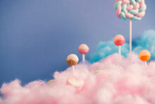 Cotton Clouds, Lollipop Candy Land