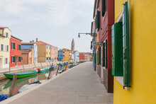 Views Of The Canals And Houses Of Burano