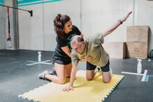 Teacher Doing Rehabilitation With A Patient