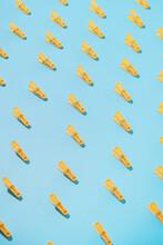 Yellow Clothespin / Clothes Peg