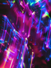 Colorful Glitchy Lights