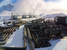 Hellisheidi ON Geothermal Power Plant, Iceland - Volcanic Steam For Heat And Electricity