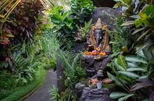 Altar Of God Ganesh. Religious Object.