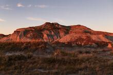 The Badlands Of Alberta, Canada.