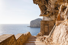 Staircase On The Cliff