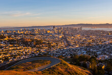 San Francisco In Sunrise