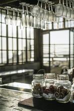 Bar In A Seaside Cafe