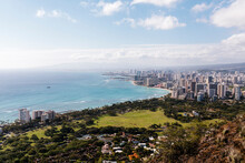 Landscape Of Honolulu From Above