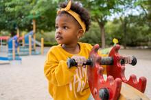 Little Black Girl In The Park.