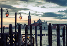 Sunrise Over San Giorgio Magiore In Venice