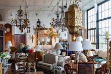 Luxury Antique Shop Showroom