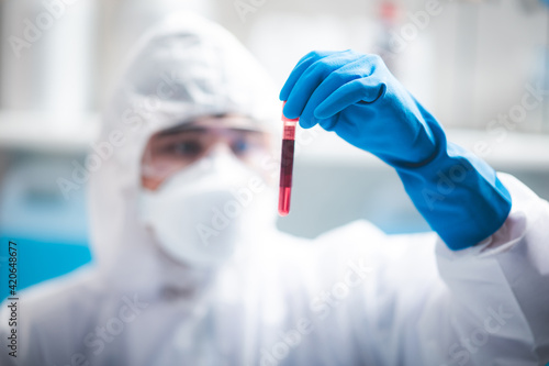 Cuadros en Lienzo Health care researchers working in life science laboratory, medical science tech